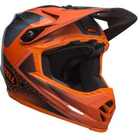 Bell Full-9 Helm matte/gloss slate/dark gray/orange